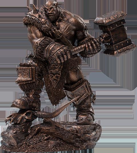 Damtoys Orgrim (Imitation Bronze) Statue