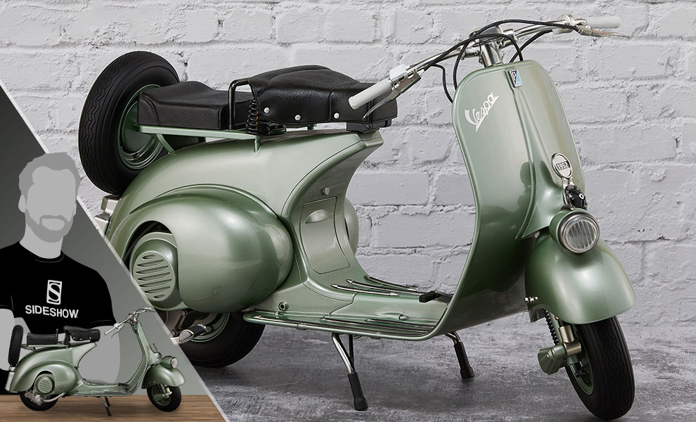 Gallery Feature Image of 1951 Vespa 125 Statue - Click to open image gallery