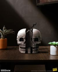 Gallery Image of Skull House Polystone Statue