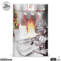 Gallery Image of Star Wars Season's Greetings Silver Coin Note (2018) Silver Collectible