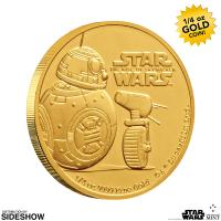Gallery Image of BB-8 & D-O Gold Coin Gold Collectible