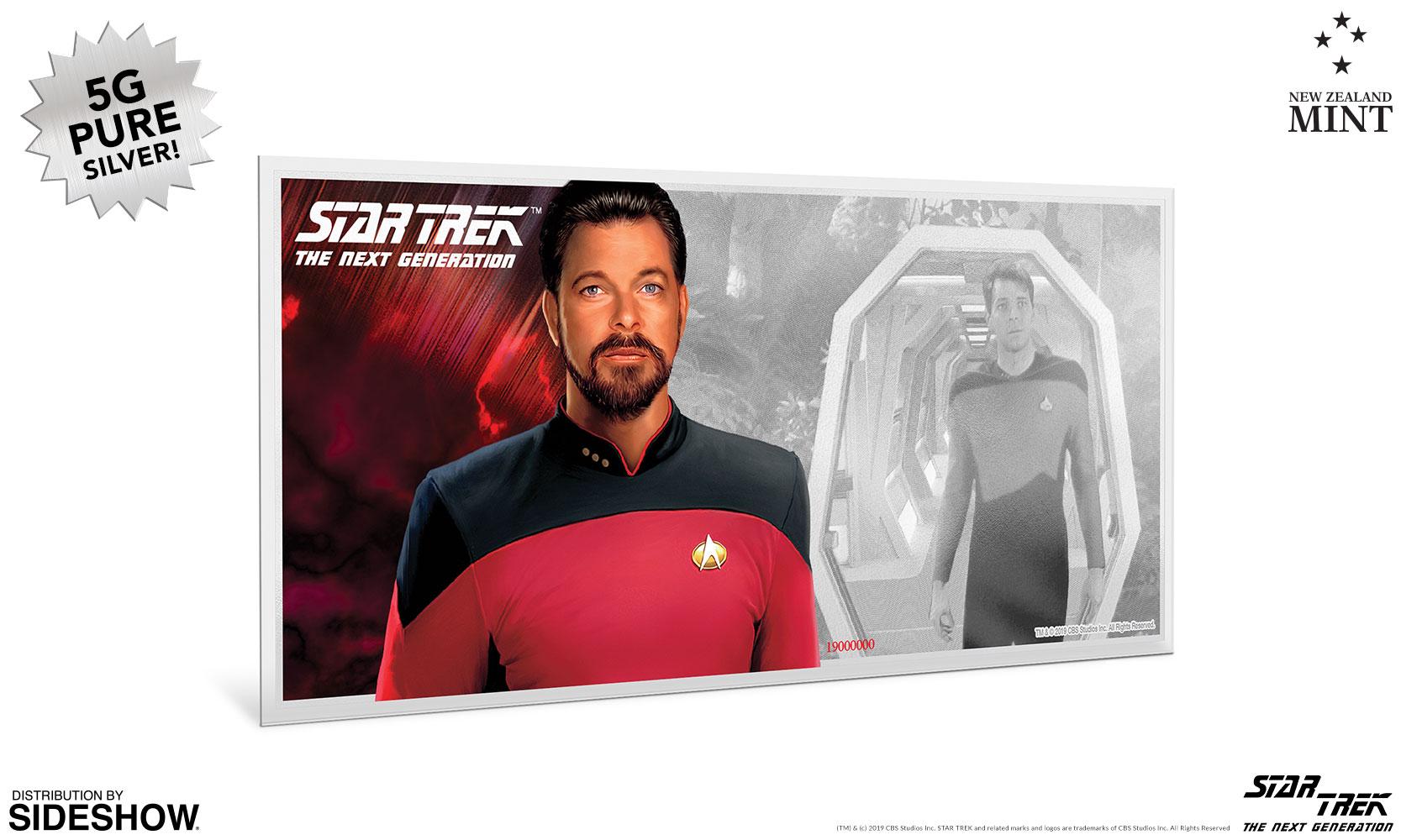 Star Trek II The Wrath of Khan Niue 2018 35g Pure Silver Foil