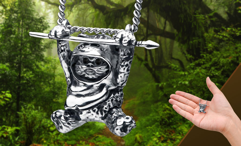 Gallery Feature Image of Ewok Slider Necklace Jewelry - Click to open image gallery