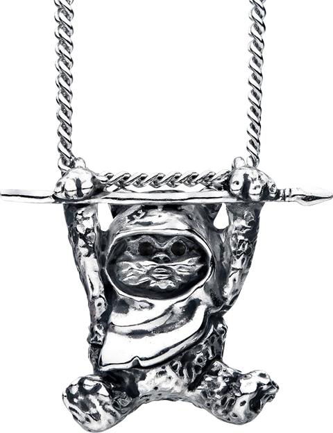 RockLove Ewok Slider Necklace Jewelry