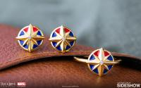 Gallery Image of Captain Marvel Star Stud Earrings Jewelry