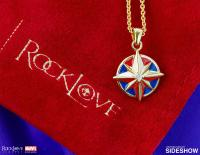 Gallery Image of Captain Marvel Star Necklace Jewelry