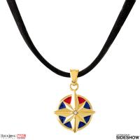 Gallery Image of Captain Marvel Star Choker Jewelry