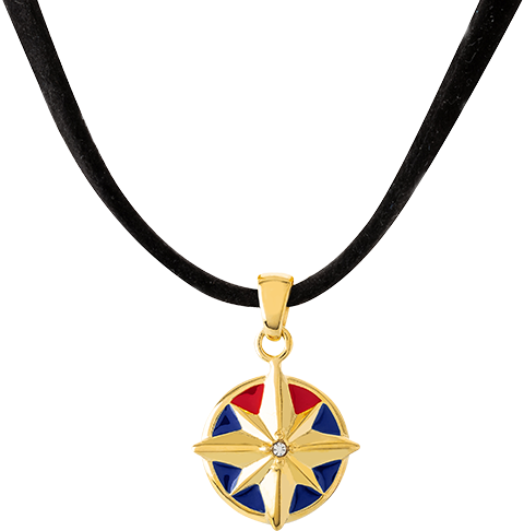 RockLove Captain Marvel Star Choker Jewelry