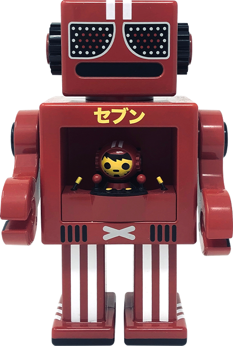 Gagatree Seven Red OBOT Collectible Figure
