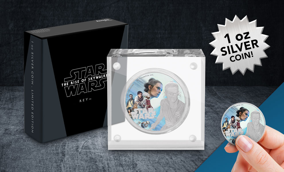 Gallery Feature Image of Rey Silver Coin Silver Collectible - Click to open image gallery