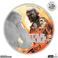 Gallery Image of Kylo Ren Silver Coin Silver Collectible