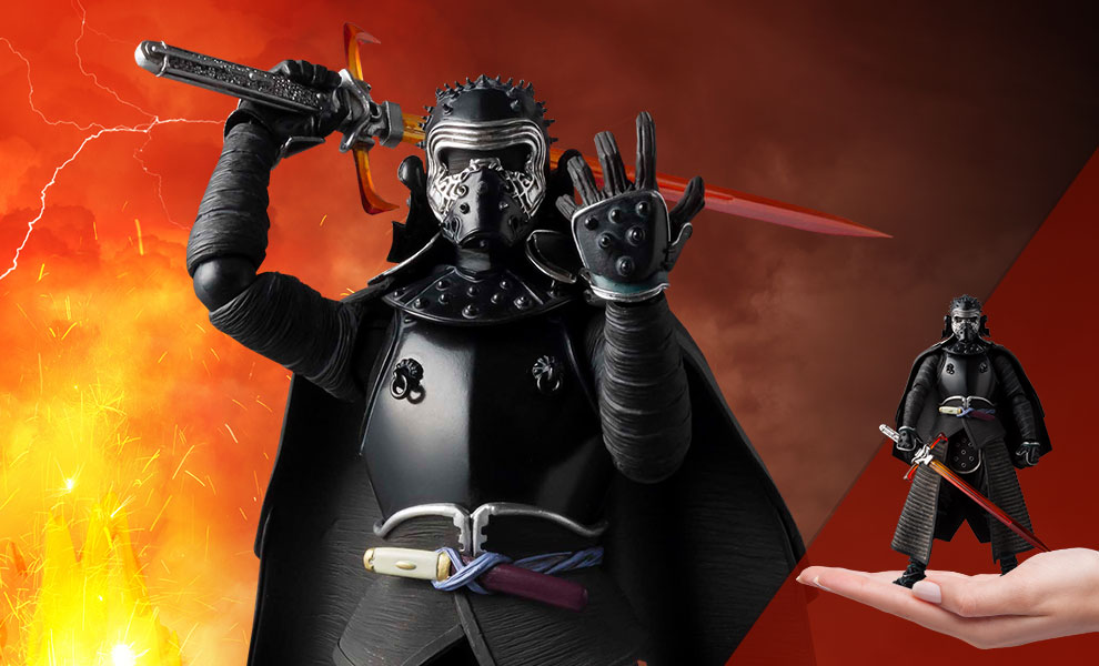 Gallery Feature Image of Samurai Kylo Ren Collectible Figure - Click to open image gallery