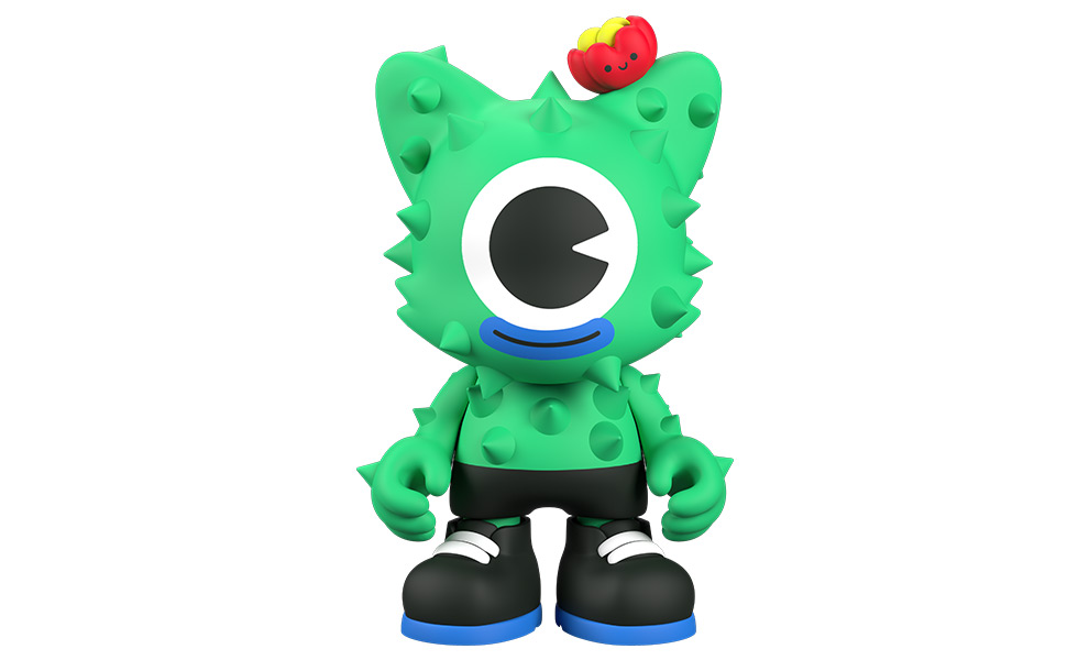 Gallery Feature Image of NoPalito Green Designer Collectible Toy - Click to open image gallery