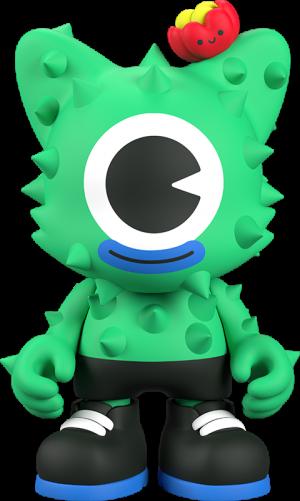 NoPalito Green Designer Collectible Toy