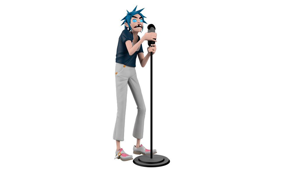 Gallery Feature Image of Gorillaz 2D Designer Collectible Toy - Click to open image gallery