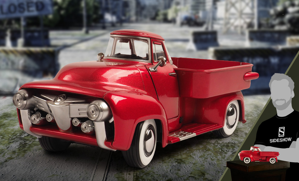 Gallery Feature Image of Pick-R-Up (Candy Red) Die-cast Figure - Click to open image gallery