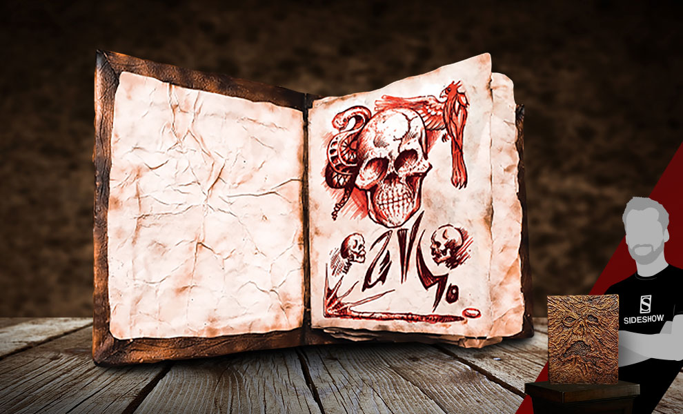 Gallery Feature Image of Book of the Dead - Necronomicon Prop Replica - Click to open image gallery
