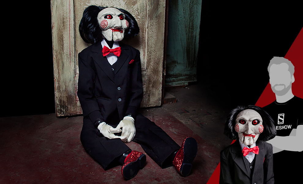 Gallery Feature Image of Billy the Puppet Prop Replica - Click to open image gallery