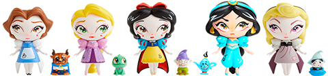 Enesco, LLC Miss Mindy Princess Series Collectible Set