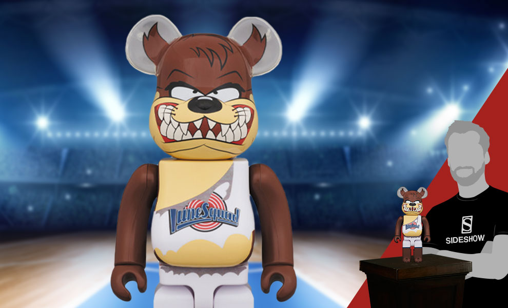 Gallery Feature Image of Be@rbrick Tasmanian Devil 400% Figure - Click to open image gallery