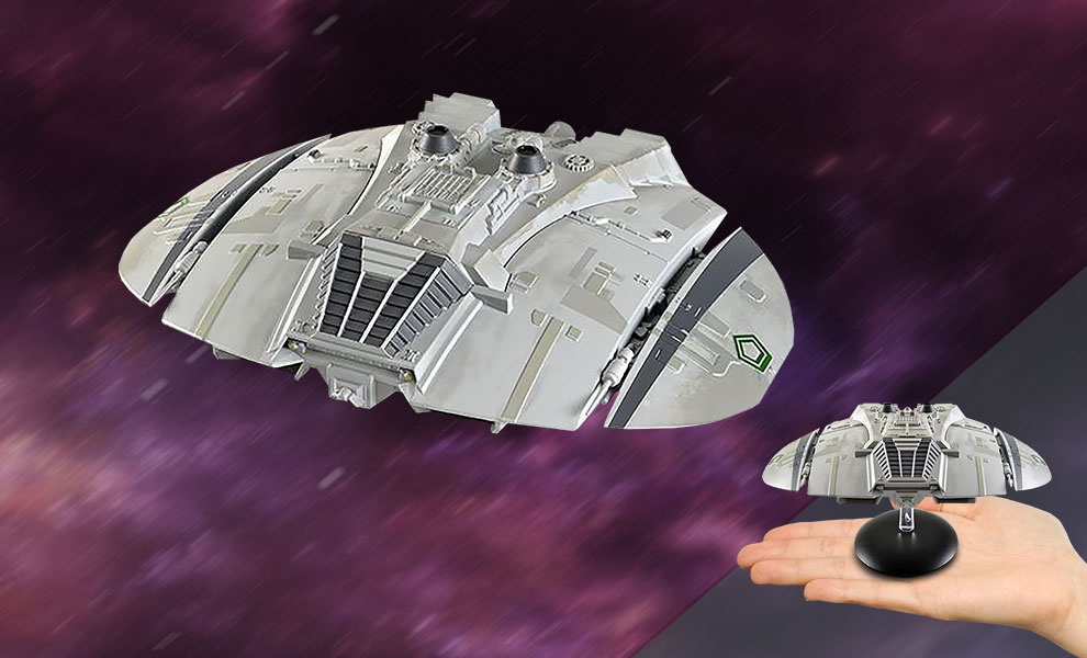 Gallery Feature Image of Classic Cylon Raider Model - Click to open image gallery