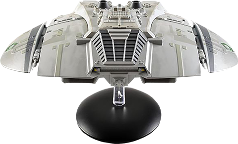 Eaglemoss Classic Cylon Raider Model