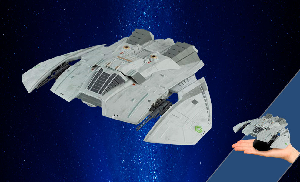 Gallery Feature Image of Cylon Raider (Blood and Chrome) Model - Click to open image gallery