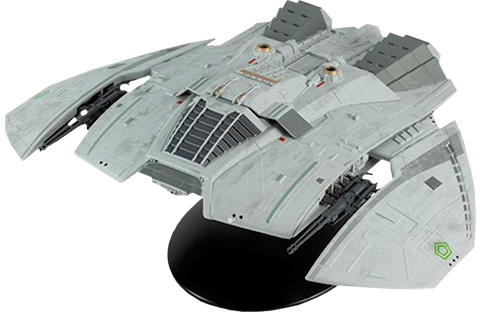 Eaglemoss Cylon Raider (Blood and Chrome) Model