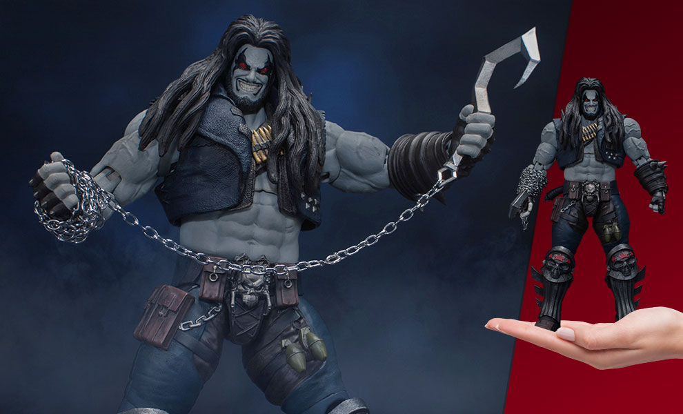 Gallery Feature Image of Lobo Action Figure - Click to open image gallery