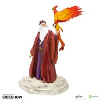 Gallery Image of Dumbledore with Fawkes Figurine
