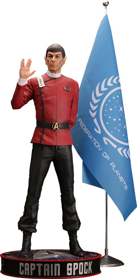 DarkSide Collectibles Studio Leonard Nimoy as Captain Spock Statue