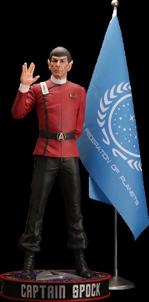 Leonard Nimoy as Captain Spock Statue