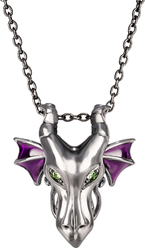 Maleficent Dragon Pendant Jewelry