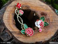 Gallery Image of Painting the Roses Ear Climber and Stud Jewelry