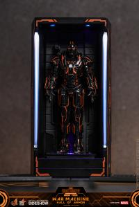 Gallery Image of Neon Tech War Machine Hall of Armor Diorama