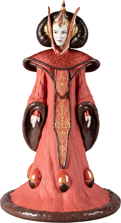 Lladró Queen Amidala in Throne Room Figurine