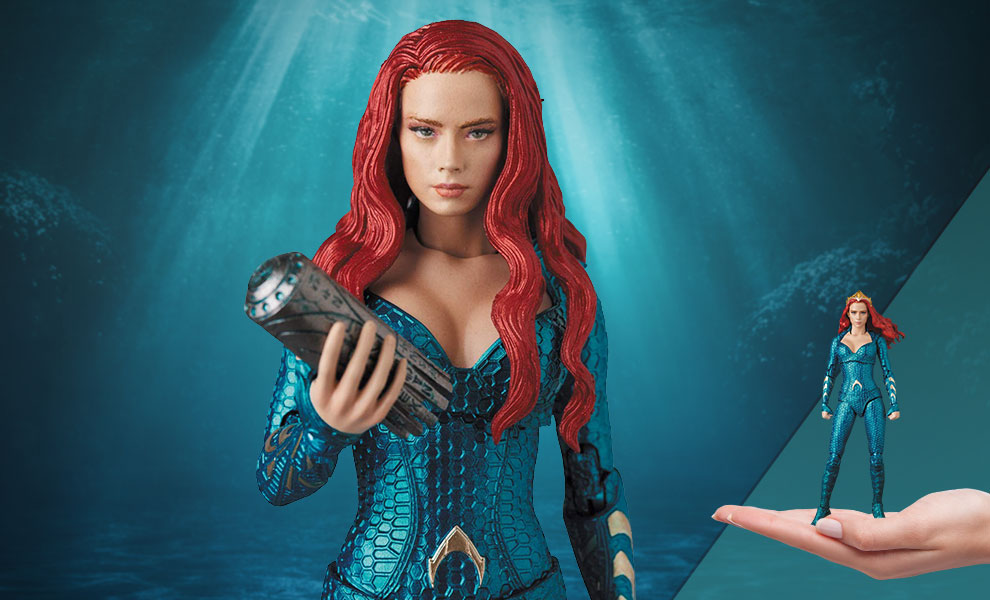 Gallery Feature Image of Mera Collectible Figure - Click to open image gallery