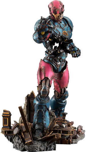 Sentinel #1 Statue