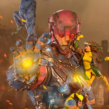 X-Men VS Sentinel #1 (Deluxe) Marvel 1:10 Scale Statue