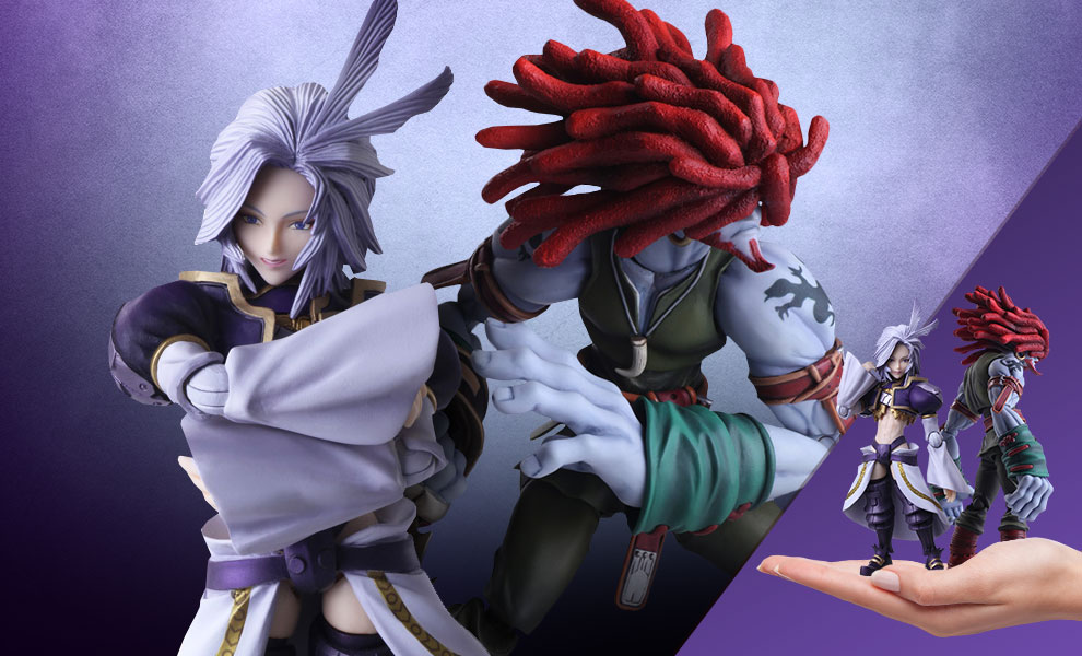 Gallery Feature Image of Kuja & Amarant Coral Collectible Set - Click to open image gallery