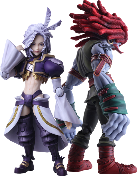 Square Enix Kuja & Amarant Coral Collectible Set