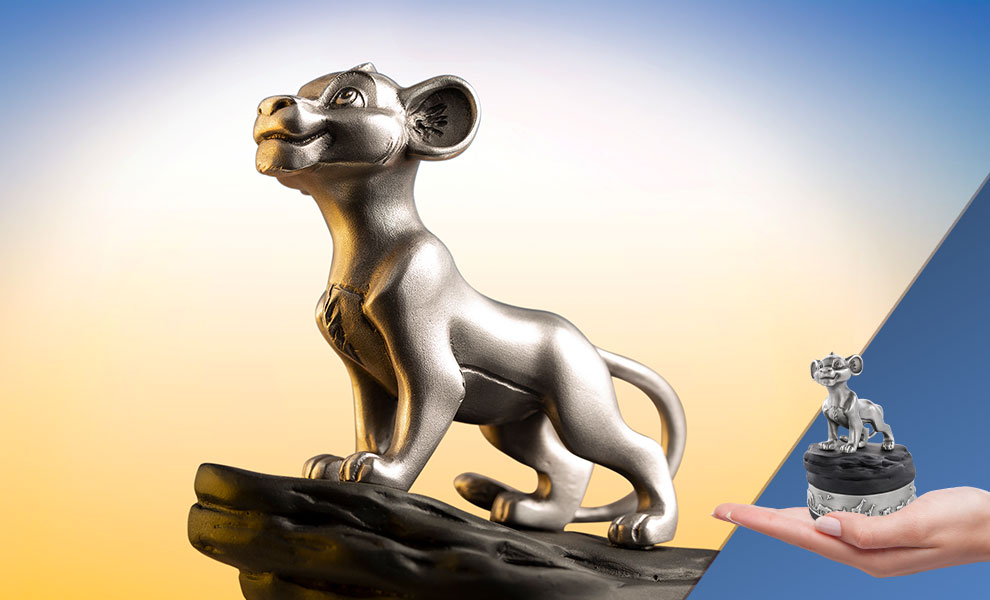 Gallery Feature Image of Simba Music Carousel Pewter Collectible - Click to open image gallery