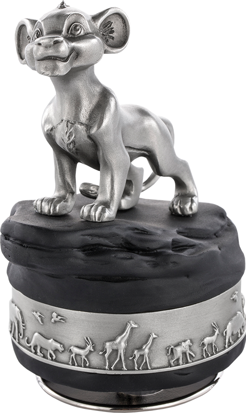 Royal Selangor Simba Music Carousel Pewter Collectible