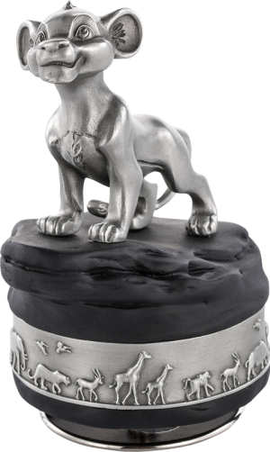 Simba Music Carousel Pewter Collectible