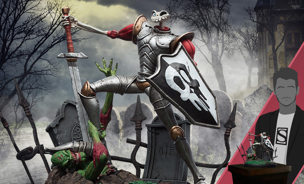Gallery Feature Image of Sir Dan Fortesque Statue - Click to open image gallery