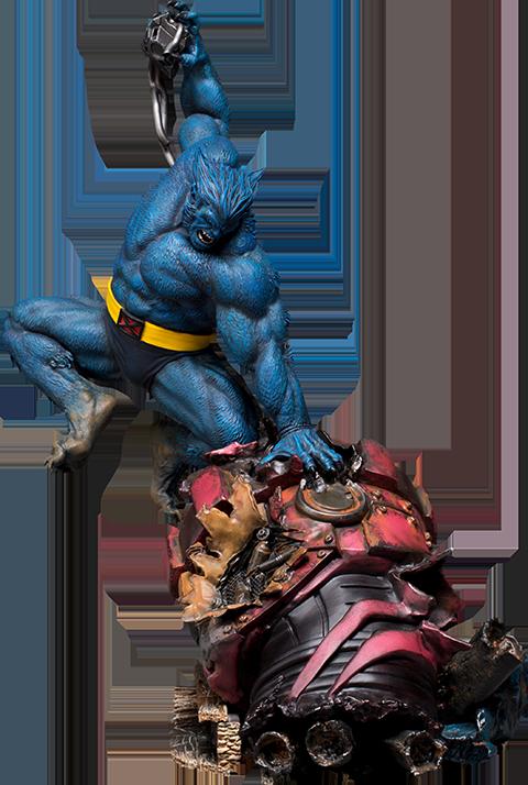 Iron Studios Beast Statue