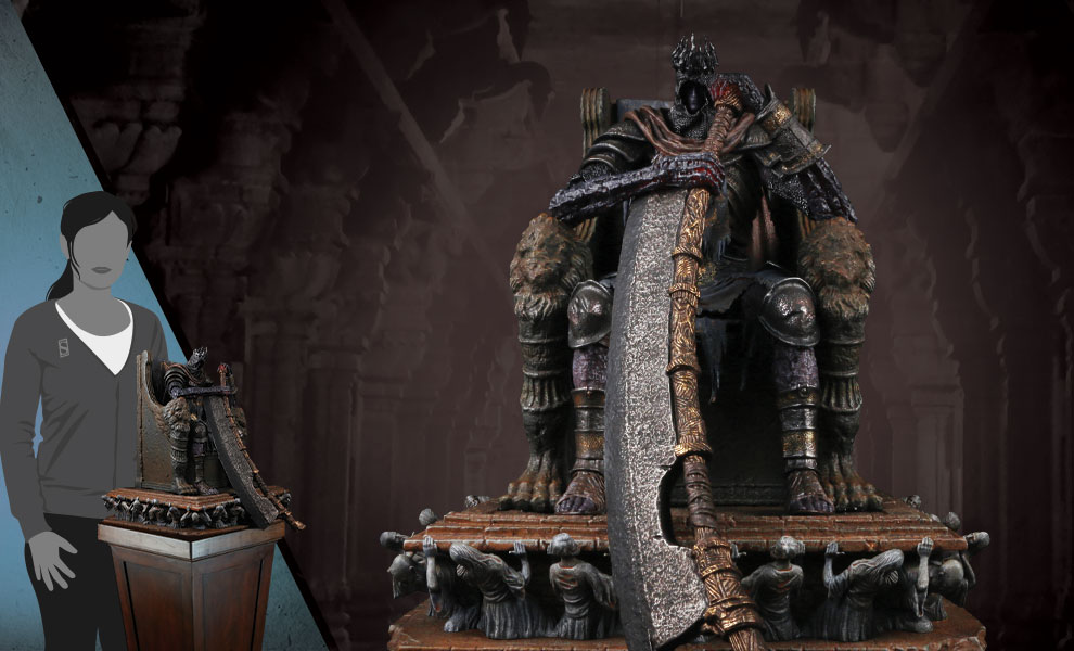 Gallery Feature Image of Yhorm the Giant Statue - Click to open image gallery