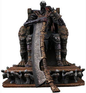 Yhorm the Giant Statue