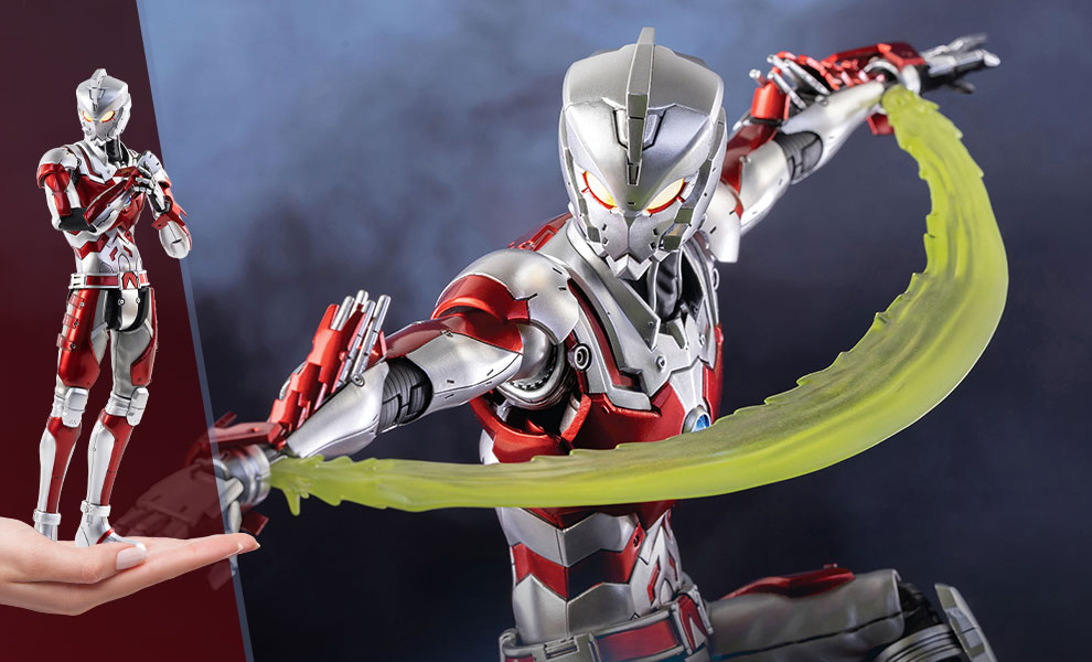 Gallery Feature Image of Ultraman Ace Suit (Anime Version) Sixth Scale Figure - Click to open image gallery