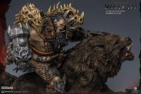 Gallery Image of Blackhand Riding Wolf (Standard Version) Statue